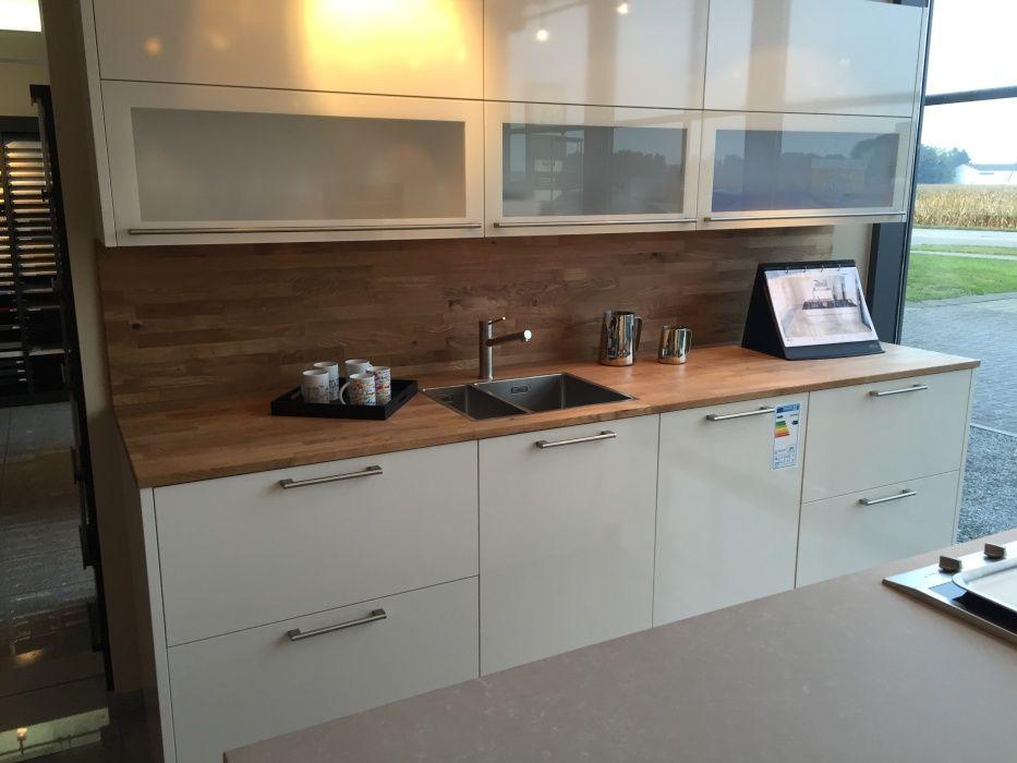 Küchenarbeitsplatte Wildeiche keilgezinkt