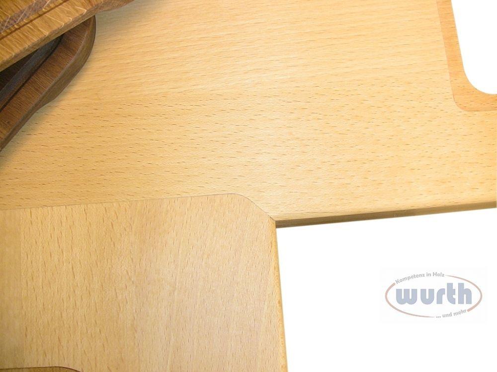 Arbeitsplatte Holz - Eckverbindung