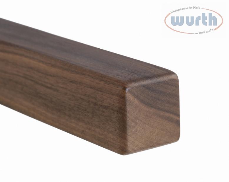 Belastung bis 80kg komplett L/änge: 120 cm InCasa Handlauf Durchmesser 28 mm in Holz