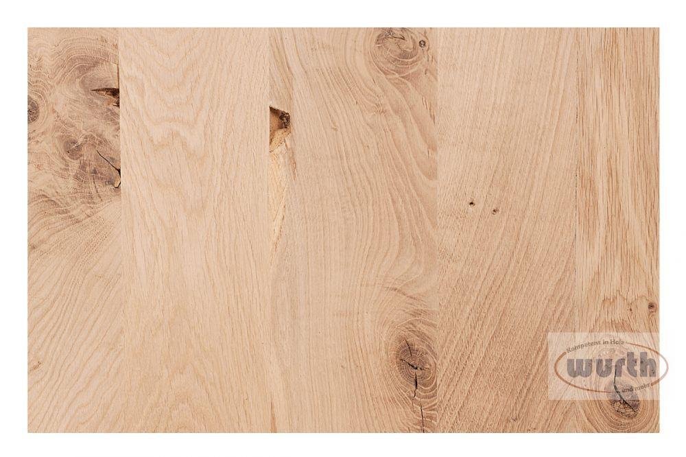Massivholzplatte Eiche rustikal C