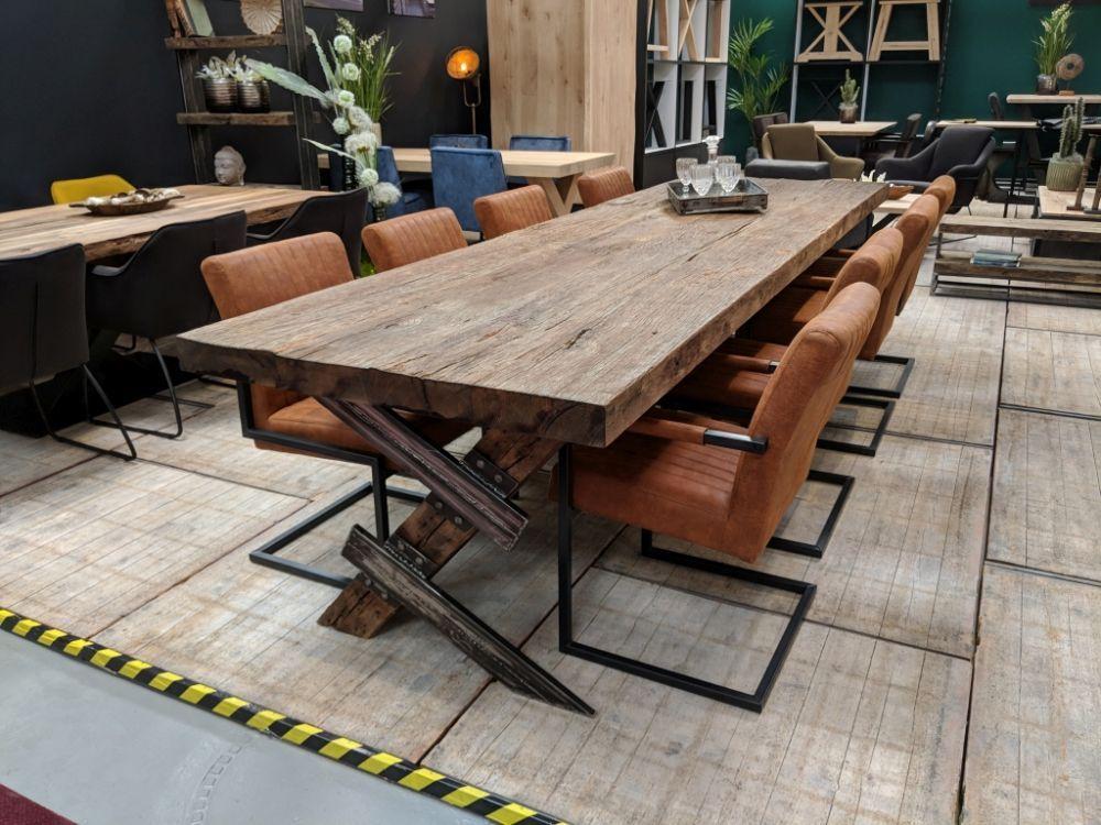 Tisch Amsterdam Eiche Altholz