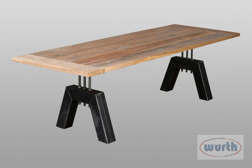 Tisch DETROIT - Eiche Old-Style