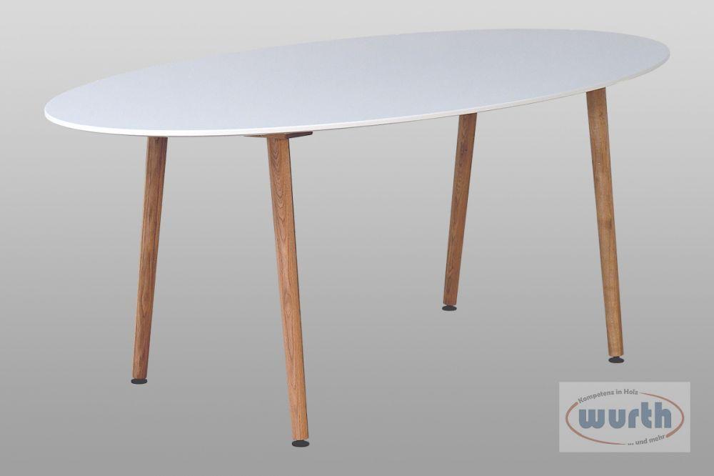 Tisch RETRO 70 - MDF lackiert