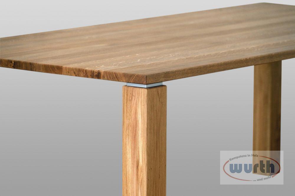 Tisch OFFENBURG - Eiche, Detail