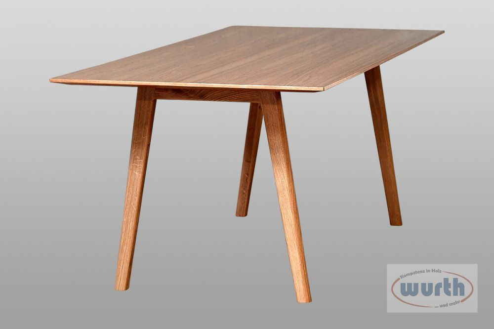 Tisch RETRO 71 - MDF Eiche furniert