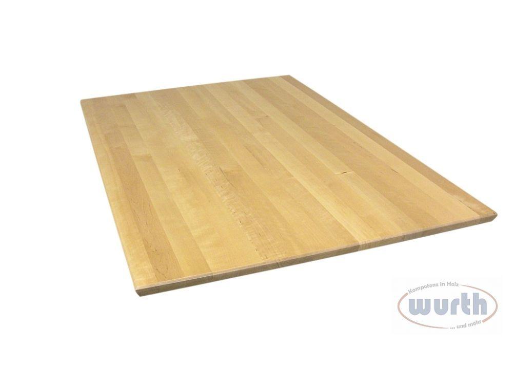 Tischplatte Holz Birke