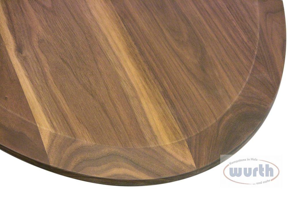 Tischplatte rund holz neuesten design for Designer tischplatten