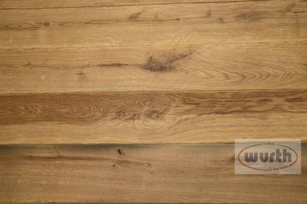 Tischplatte Holz Eiche massiv Old-Style Exklusiv