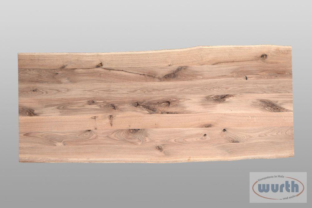 Tischplatte Eiche Natural Line, roh