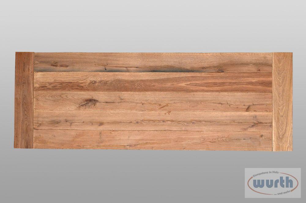 Tischplatte Eiche Old Style Exklusiv, roh
