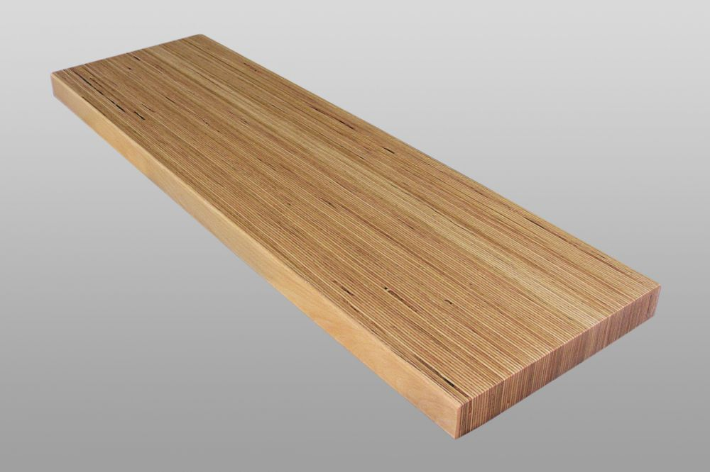 Treppenstufe Holz Baubuche geölt