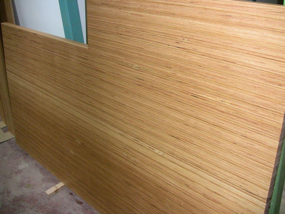 Baubuche Podestplatte Holz
