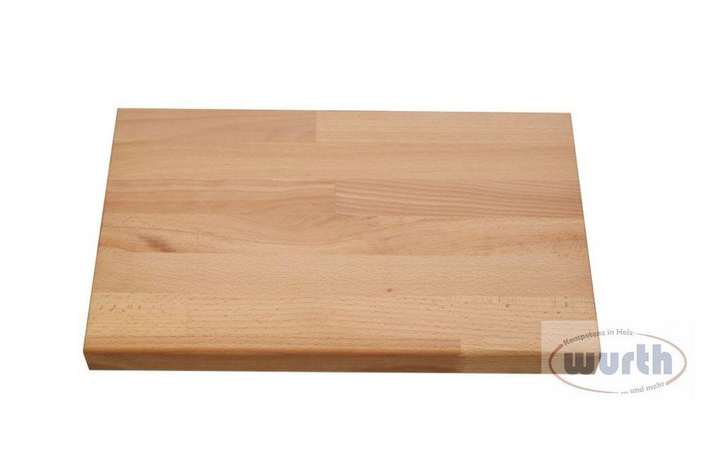 Holzstufe Buche kgz, lackiert