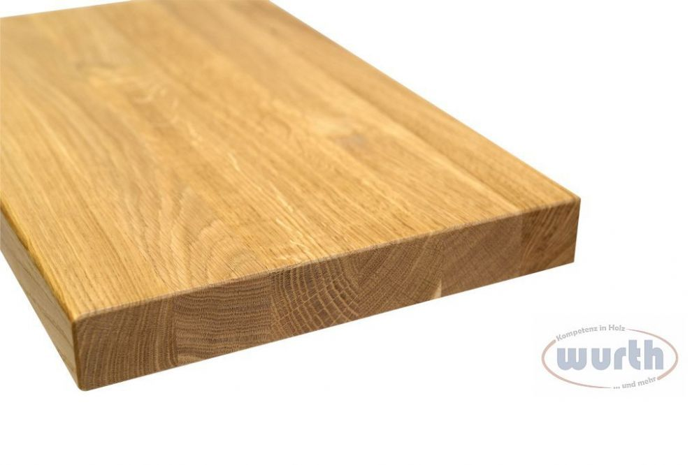Treppenstufe Holz Eiche A/B Fixlamellen