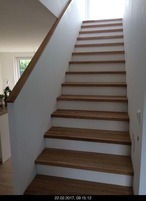 Treppe mit Stellstufen (Elztal Holzhaus)