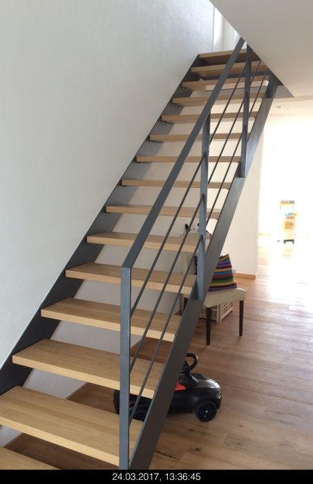 Treppe Eiche (Elztal Holzhaus)